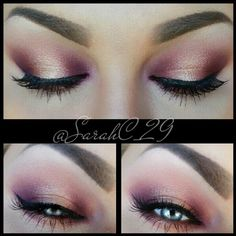@sauceboxcosmetics forbidden fruits palette and #nyx shimmer pigment ..lashes @eyekandycosmetics alanya