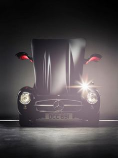 Black beauty: The Mercedes-Benz 300 SL. Photo by Staud Studios.