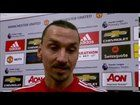 """nice Zlatan: """"I was never worried. Lions do not recover like humans"""" (post-match interview alongside Pogba)"""