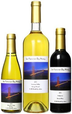 San Francisco Bay Winery Drink and Dessert Mixed Pack, 2 x 375 mL and 1 x 750 mL ** To view further for this item, visit the image link.
