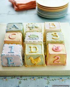 cake baby blocks