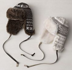 Fair Isle & Luxe Faux Fur Hat - for visits home to Canada & snow