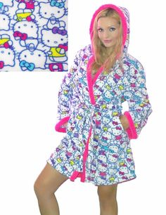 80b3297ee 13 Best Hello Kitty sleepwear sale images in 2017 | Sanrio hello ...