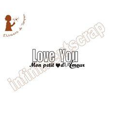 Mon petit coeur love you