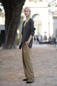 Aymeline casually killing it #offduty in Paris. #AymelineValade
