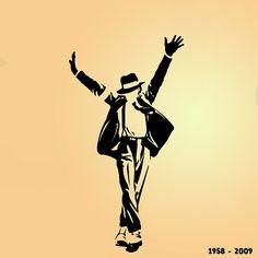 Painting of Michael Jackson