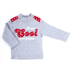 Bulle de bb - tee-shirt with long sleeves - aussi cool que papa for baby : Mon Premier Doudou baby's shop, Bodies & rompers
