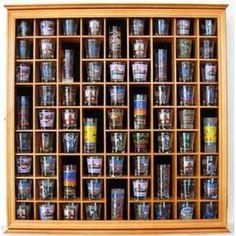 71 Shot Glass Display Case :)