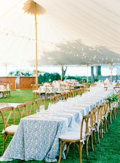 This classic pink and blue backyard wedding in Cape Cod will have you wishing you could dive right into the scene. This bride and groom stuck to a East coast theme, and we think that they pulled it off perfectly. Casual Wedding, Blue Wedding, Wedding Reception, Gothic Wedding, Glamorous Wedding, Outdoor Tent Wedding, Portable Dance Floor, Nantucket Wedding, Cape Cod Wedding
