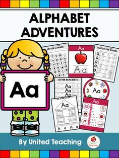 Welcome to Alphabet Adventures.The A to M Bundle is available here!The N to Z Bundle is available here!The purpose of this program is to introduce children to the alphabet in a fun and engaging way and to prepare them for their first reading lessons. The resources and activities for each letter aim to teach children to recognise the letter and its sound.The letters of the alphabet have been divided into 7 units.