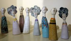 Ceramic Sculptures by Jane Muir