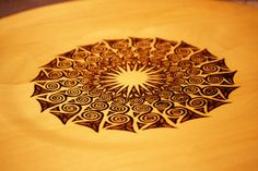 Celtic Designed Plate/Platter by HAWKESPYROGRAPHY on Etsy, $45.00