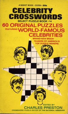 Art Is Everywhere Except On The Covert Of Crossword Puzzle Books