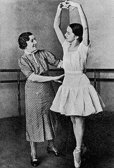 Madame Agrippina Y. Vaganova ( 1879-1951) teaching Ballet