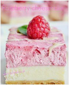 chute a vône mojej kuchyne. Cheesecake Cupcakes, Cheesecake Brownies, Raspberry Cheesecake, No Bake Cake, Muffin, Pudding, Treats, Fruit, Breakfast