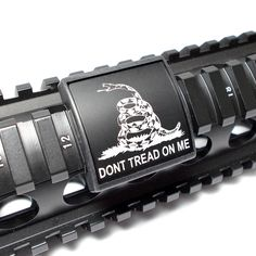 Handguard Rail Cover: Don't tread on me - Small (LEA)