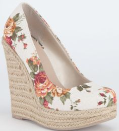 Sexy Wedge Heels Spring Trend For Women Feet