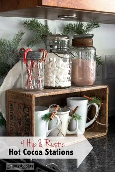 4 hip and rustic hot cocoa stations to copy | eBay