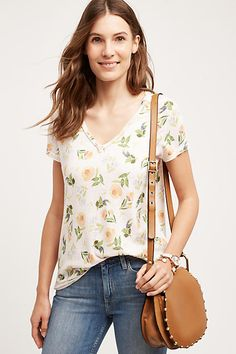 Tillie V-Neck Tee - anthropologie.com
