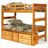 Found it at Wayfair - Extra Tall Twin over Twin Standard Bunk Bed with Underbed Storage