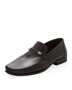 7b21039d00d Tolomino+Napa+Loafer,+Black+by+Bruno+Magli+at. Last Call by Neiman Marcus
