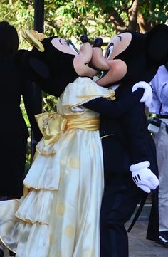 mrdisneylandman:  i dont care what anyone says, they may be fictional, but i believe Mickey and Minnie Represent true love!!
