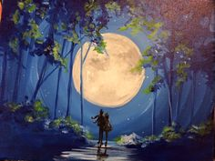 Moonlight Romance by Salix-Tree.deviantart.com on @DeviantArt