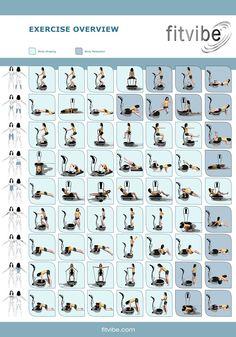 Gymna Fitvibe Vibrationstraining: Die Übungsübersicht