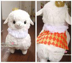 2014-Baby-Arpakasso-Alpacasso-Alpacos-alpaca-Plush-toy-Dolls-White-Prince-45cm