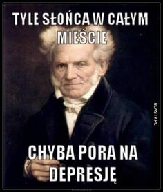 Schopenhauer vol. n-ty Sad Pictures, Reaction Pictures, Best Funny Pictures, Funny Images, Wtf Funny, Hilarious, Best Of 9gag, Funny Mems, Depression Memes