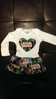 Star Wars Onesie Dress by BonitaCouture on Etsy, $25.00