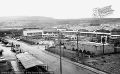 Brynmawr, Semtex Factory c.1965, from Francis Frith