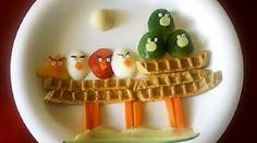 Haha, angry bird breakfast - if you're not a morning person. :)