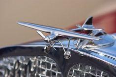 1931 Franklin - Airplane Hood Ornament: