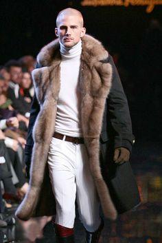 Russian Siberian Sable lines coat man furs #anadco #furonline