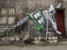 Hybrid-Street-Art-by-Ludo-