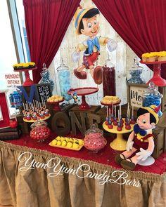 Happy 1st Birthday Matthew! Thank you For Having Us @__gonzalezz16 #Pinocchio #pinocchiotheme #pinocchioparty #kidsparty #birthdayparty #yumyumcandybars #candybar