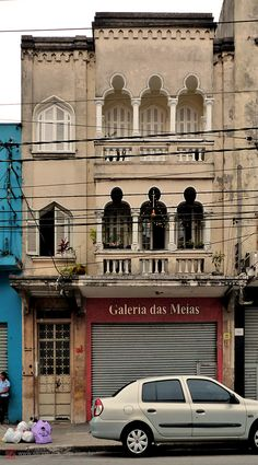 Moorish architecture in Sao Paulo