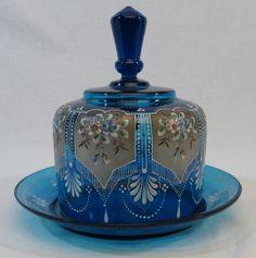 Moser Bohemian Cheese Dome Antiek Journeys Inc Cut Glass, Glass Art, Vases, Pots, Cheese Dishes, Cheese Trays, Cheese Dome, Cranberry Glass, Antique Glassware