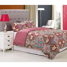Wildberry Cotton 300 Thread Count 3-piece Duvet Cover Set | Overstock.com Shopping - Great Deals on Duvet Covers