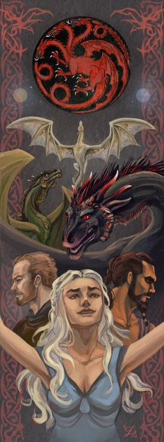 House Targaryen by Alsheim.deviantart.com on @deviantART