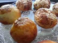 Myrkynkeittäjä: The PullaTaikina, RahkaPullaTaikina Sweet Recipes, Cake Recipes, Bakewell Tart, Something Sweet, Healthy Treats, Pretzel Bites, Vegan Desserts, Baked Goods, Muffin