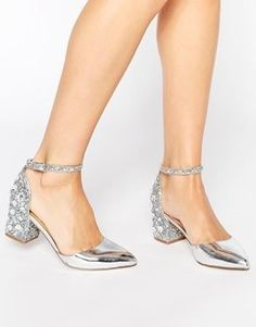 Truffle Collection Molly Ankle Strap Mid Heeled Shoes | whislist ...