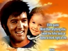 Elvis quote, that's cool