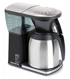 Bonavita BV1800SSB 8 Cup Coffee Maker With Thermal Carafe Black -- To view further for this item, visit the image link.Note:It is affiliate link to Amazon.