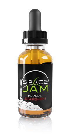 2vaped - Starship 1 e-Liquid (Space Jam), $12.49 - Back by popular demand! Space Jam's Starship 1 is their best selling mix of Vanilla Custard and a succulent Tropical Kiwi! #ecigs #eliquid #vape - (http://www.2vaped.com/starship-1-e-liquid-space-jam/)