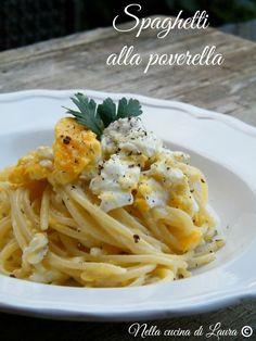 spaghetti alla poverella - nella cucina di laura