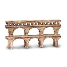 This is a miniature aqueduct of ancient Rome figure. Hand painted and produced by Safari, it's a neat little historically accurate figure. Perfect for play, use in a school project, historical display Ancient Rome, Ancient Greece, Rome Art, Roman City, Roman History, Mixed Media Canvas, Ancient Civilizations, Craft Activities, New Toys