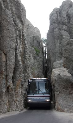 Custer State Park..tight fit.