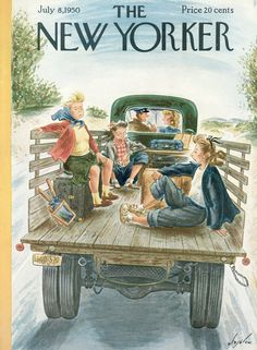 The New Yorker  July 8, 1950  Vol. 26, N° 20 (Whole No. 1,325)   Cover Art - Constantin Alajálov